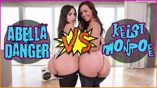 BANGBROS – Kelsi Monroe VS Abella Danger, dirty dancing and Fucking