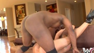 WCPClub Horny Housewife cougar loves big black cock and a facial cumshot